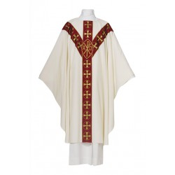 Chasuble Chi-Rho