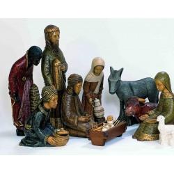 Crèche de Noël en dolomie modèle 1300