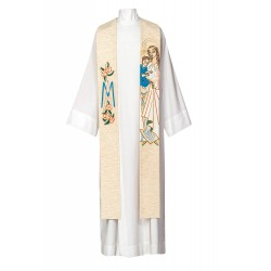 Etole de prêtre de la Sainte Vierge