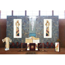 Pair of altar scarves, standard 9'' x 101'' - Bernini 415 series
