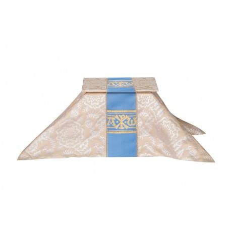 Burse and chalice veil - Alpha Omega Tudor series