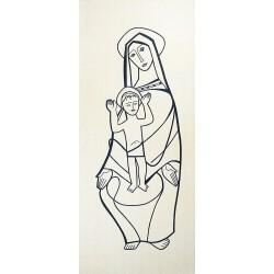 Tapisserie de la Sainte Vierge et l'Enfant Jésus