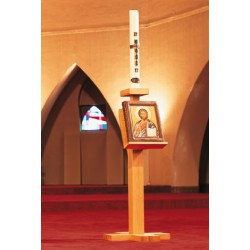 Chandelier avec support pour évangile